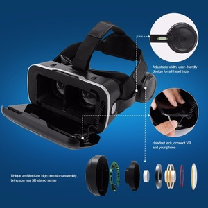 Image 5 - Mới VR Shinecon 6.0 Nâng Cấp Phiên Bản Thực Tế Ảo 3D VR Kính Tai Nghe Mũ Bảo Hiểm Hộp Trò Chơi Hộp Trò Chơi
