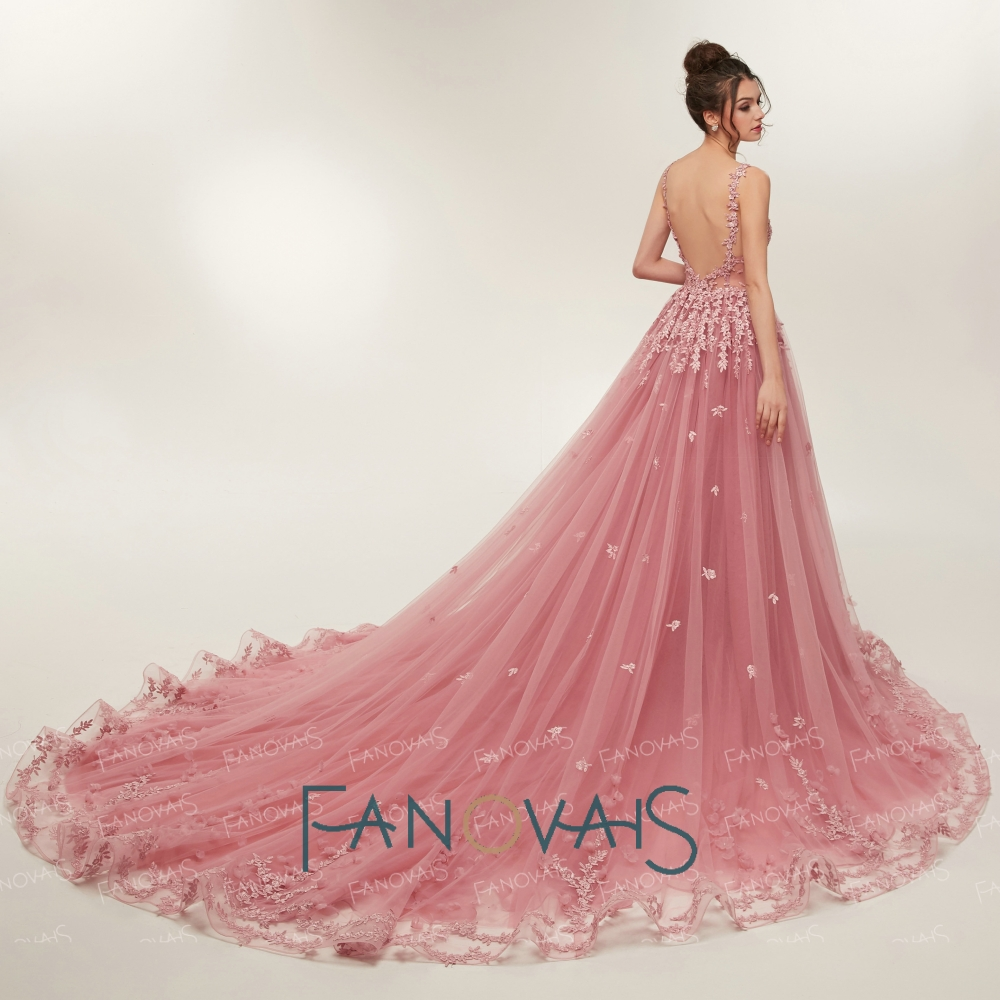 Awesome Wedding Gowns Pink Embellishment - Images for wedding gown ...