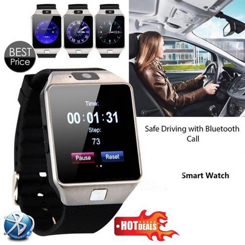 2018 DZ09 Smart Watch Men Reloj Inteligente Wearable Devices Sport Bluetooth DZ09 Smartwatch Android Phone Call Relogio Invicta zeus watch