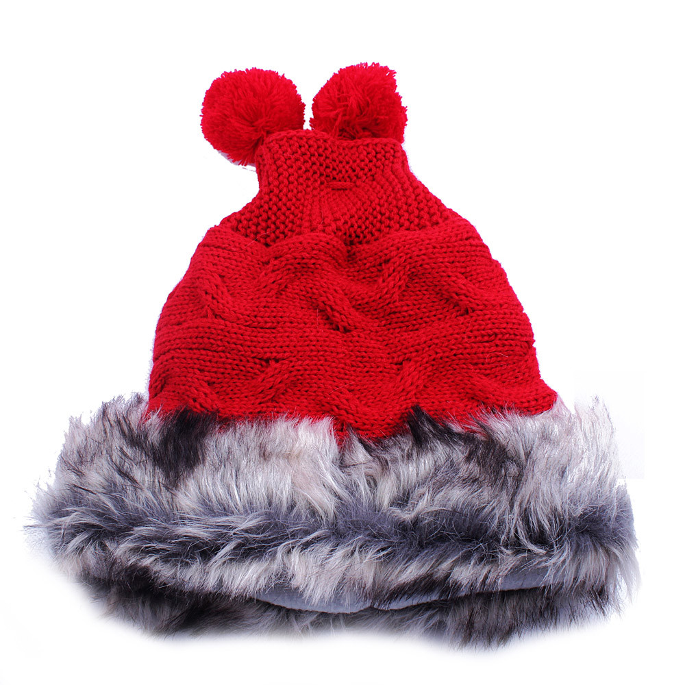 1pc Women Warm Winter Knit Ski Beanie Skull Slouchy Cap Hat Unisex Knitting Wool Ear Protect Casual Cap Chapeu Feminino #84 pentacle star warm skull beanie hip hop knit cap ski crochet cuff winter hat for women men new sale