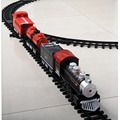 Cheap Classical Electric Train Track Set Kids Toys with Sound Light and Realistic Smoke Steam Brinquedo Menino
