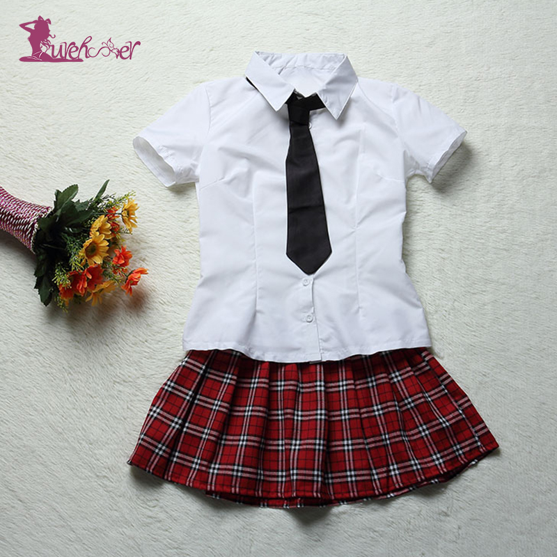 Aliexpresscom  Buy Lurehooker New Cosplay Student Uniform Sexy Lingerie Hot White -2857
