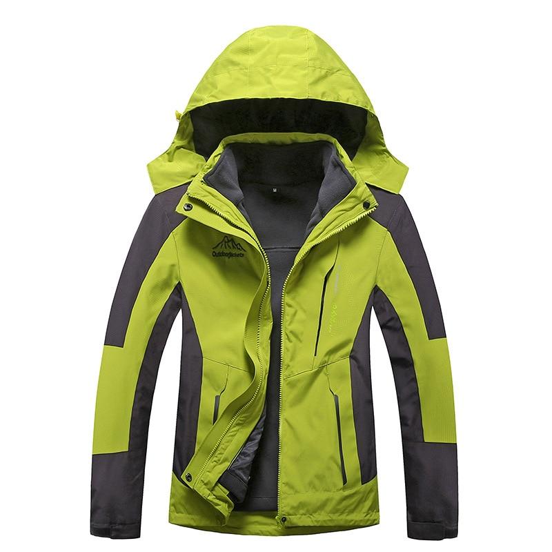 ФОТО Women's Waterproof Front Zip Ski Jacket Fleece Hooded Outwear Mountain Jackets Windproof Ski Jacket