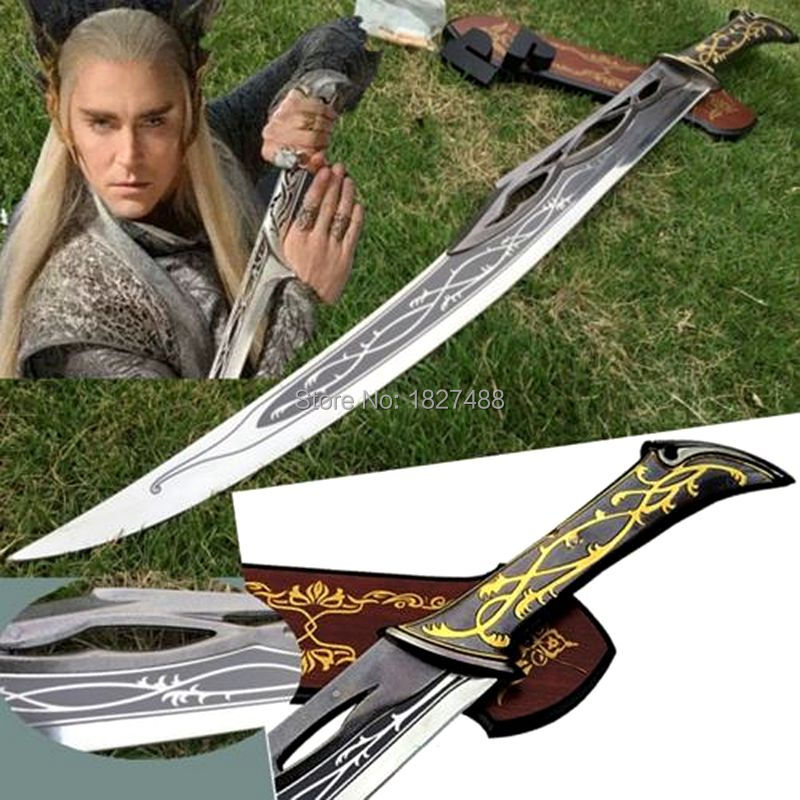 collection Replica Sword of King Goujian waist knife Hand Forged Bronze action figure pokemon