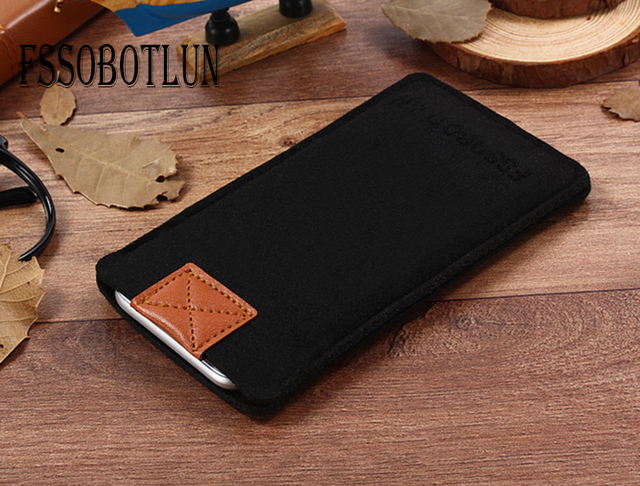 check out 84869 6019a US $5.99 40% OFF|FSSOBOTLUN,3 Colors,For Apple iPhone X Case For iPhone 10  Luxury Case Handmade Wool Felt Sleeve Bag Pouch Cover For iPhoneX 5.8 -in  ...