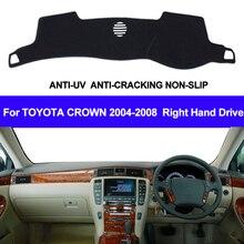 Cubierta para salpicadero de coche tapete para salpicadero de Toyota Crown, alfombrilla para salpicadero de coche, alfombrilla para salpicadero, 2004, 2005, 2006, 2007, 2008