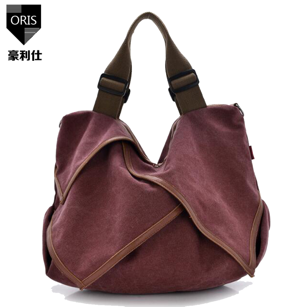 ORIS hot women handbags 2017 casual canvas handbags large capacity totes women messenger bags shopping bag single shoulder bolsa kvky vintage woman canvas handbags large capacity casual tote women shoulder bag brand messenger bags ladies shopping bag bolsa