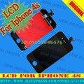 Marca, Branco cores LCD conjunto de tela de toque digitador para Iphone4s