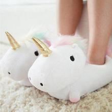 Unicorn Slippers Glow In The Dark