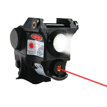 LASERSPEED Tactical Pistola Light Flashlight Gun + Red Laser Sight MIL-STD-1913 Picatinny Rail Mini Lanterna Glock 17 19