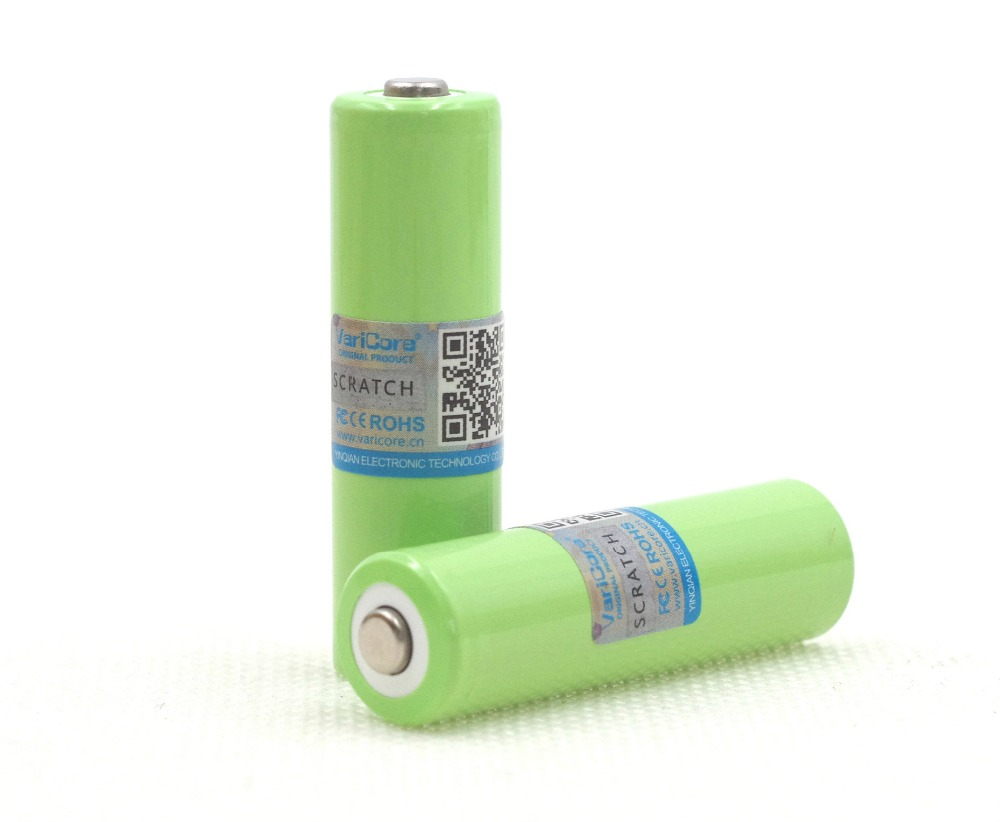 <font><b>2</b></font> Pcs / VariCore <font><b>AA</b></font> <font><b>Ni</b></font>-<font><b>MH</b></font> Battery 2000 mAh <font><b>1</b></font>.<font><b>2</b></font> <font><b>V</b></font> Rechargeable High-Capacity Camera Battery / Microphone / Mouse / Batteries Toys image
