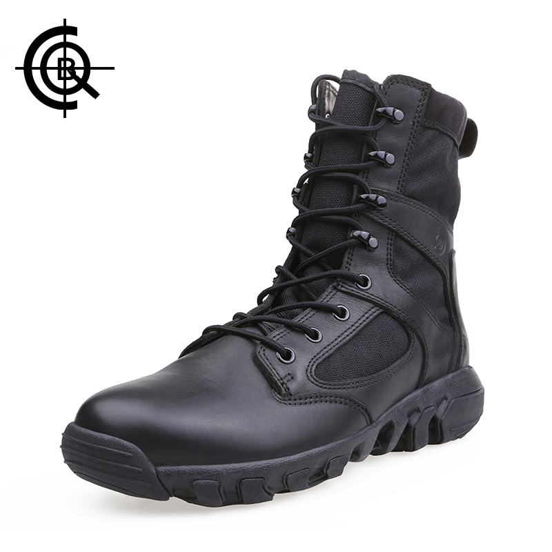CQB Outdoor Tactical Hiking Shoes Men Breathable Lightweight Trekking Boots EVA Insole Training Boots  SL0223