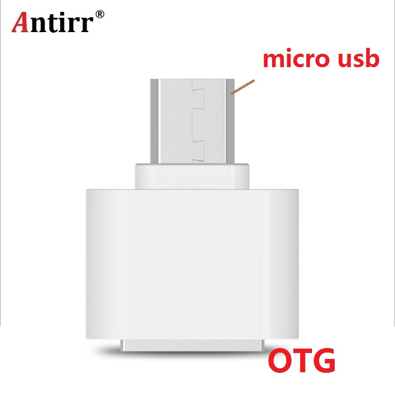 Micro USB OTG Adapter Male To USB 2.0 Micro Adapter Converter For Samsung Xiaomi LG Huawei Android Mobile Phones