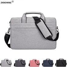 حقائب الكتف حقيبة كمبيوتر محمول لماك بوك اير 13 A1932 2018 حقائب النساء الرجال كم دفتر الحقيبة غطاء لماك اير 13 A1369 A1466