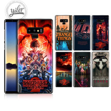 Fashion Stranger Things For Samsung Galaxy Note 9 case for A7 2018 A8 8 A50 A530 cover Note9