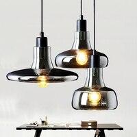 Modern glass ball led pendant light home light lamp ceiling fan for kids bedroom light hanging lamp vintage lamp night light