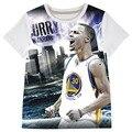 Stephen Curry Children clothing Boys t shirt children Basketball big boys summer stly  kids tops brand short sleeve tops child t