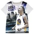 Stephen Curry crianças roupas meninos crianças stly crianças marca de basquete meninos verão de manga curta t