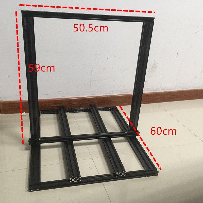 funssor creality cr 10 s4 3d impressora extrusao metal frame kit 400mm tamanho 2020 2040 v