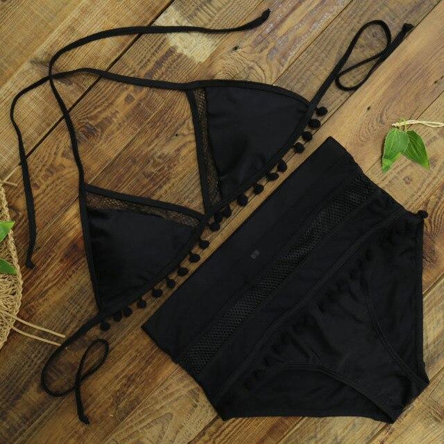 High Waist Bikini Lacey 3