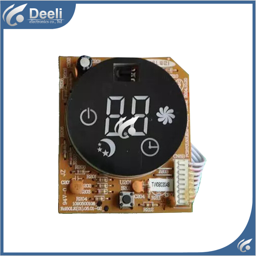 все цены на 95% new good working for TCL Air conditioning display board remote control receiver board plate 1090500105 онлайн