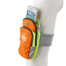 Durable Waterproof Outdoor Sport Running Arm Bag For Mobile Phone Gym Arm Band Phone Holder Bag M/L free shipping