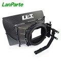 LanParte 19 мм Матовая коробка из углеродного волокна с регулируемой по высоте и откачивающейся конструкцией для DSLR камеры