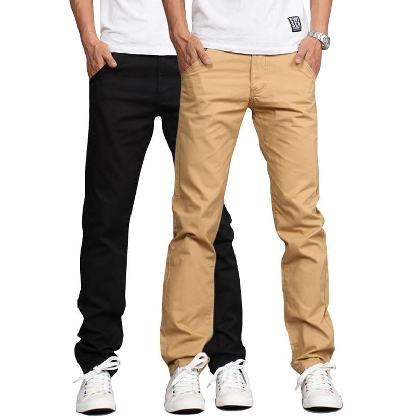Black Khaki Pants Men | Gpant