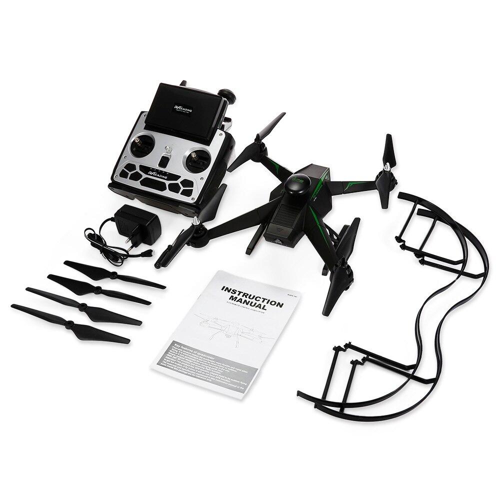 Оригинальный RC Дрон 136FGS бесщеточный GPS Квадрокоптер RTF 5,8g FPV 1080P FULL HD/Follow Me/точки интереса вертолеты Радиоуправляемый Дрон