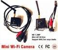 960 P Sem Fio WI-FI mini câmera IP 1.3 MegaPixels mini wifi camera 3.7mm lens Onvif câmera de segurança CCTV Camera apoio Captura