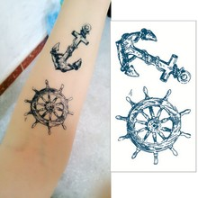 Anchor Tattoo Stickers Waterproof Refers To The Temporary Body Tattoo Sticker Art