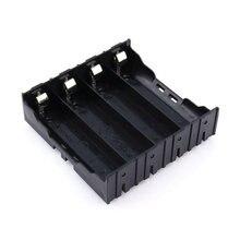 Banco do Poder Caixa de Armazenamento Caso com Pino Adequado para 1 e 2 e 3 e 4 Carregador de Bateria 18650 Titular PCS Baterias Lítio