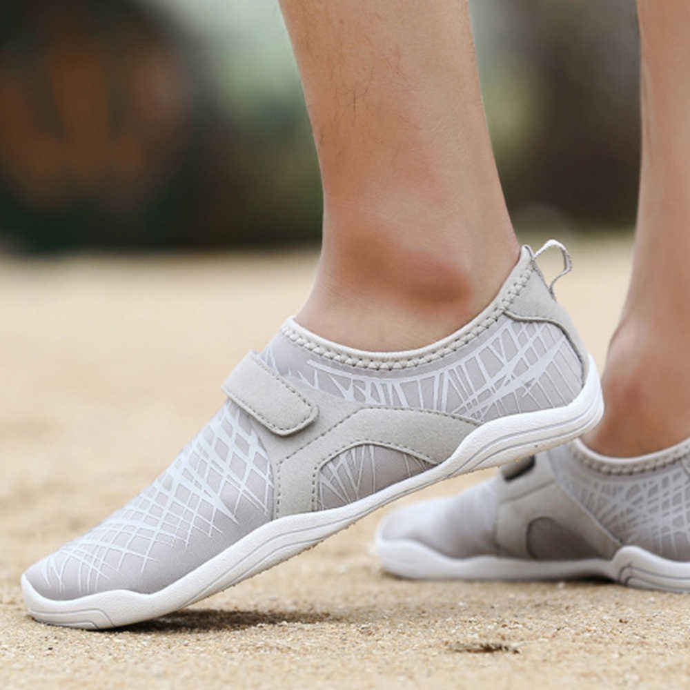 Unisex Aqua Shoes Beach Wear Swimming Pool Footwear Men Barefoot Women Fishing Water Sneakers Non-Slip Walking Water Shoes Surf