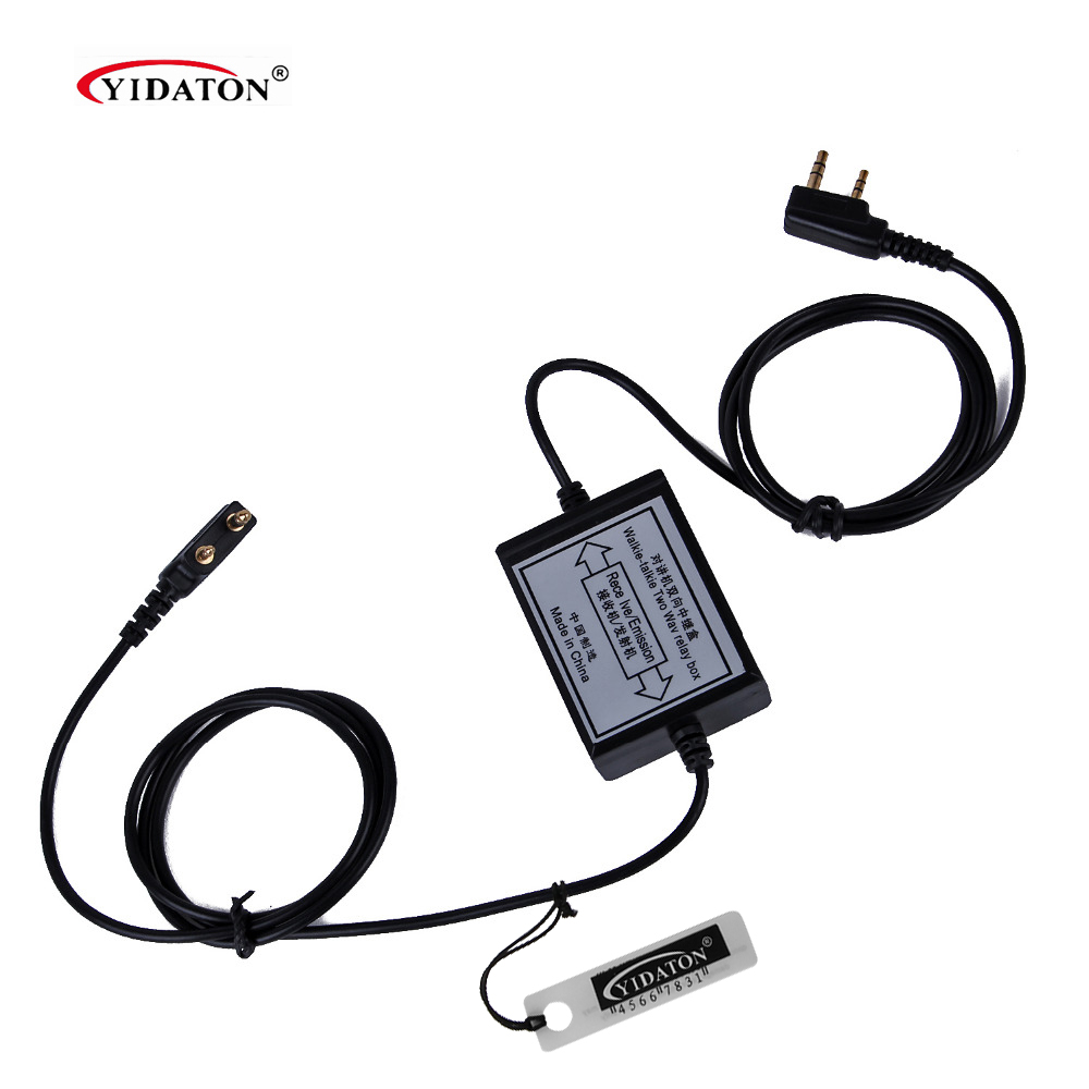 YIDATON SainSonic RPT-2K Two Way Relay Walkie Talkie Repeater Box For Two Handheld Radio Baofeng Wouxun Puxing K Port With Video