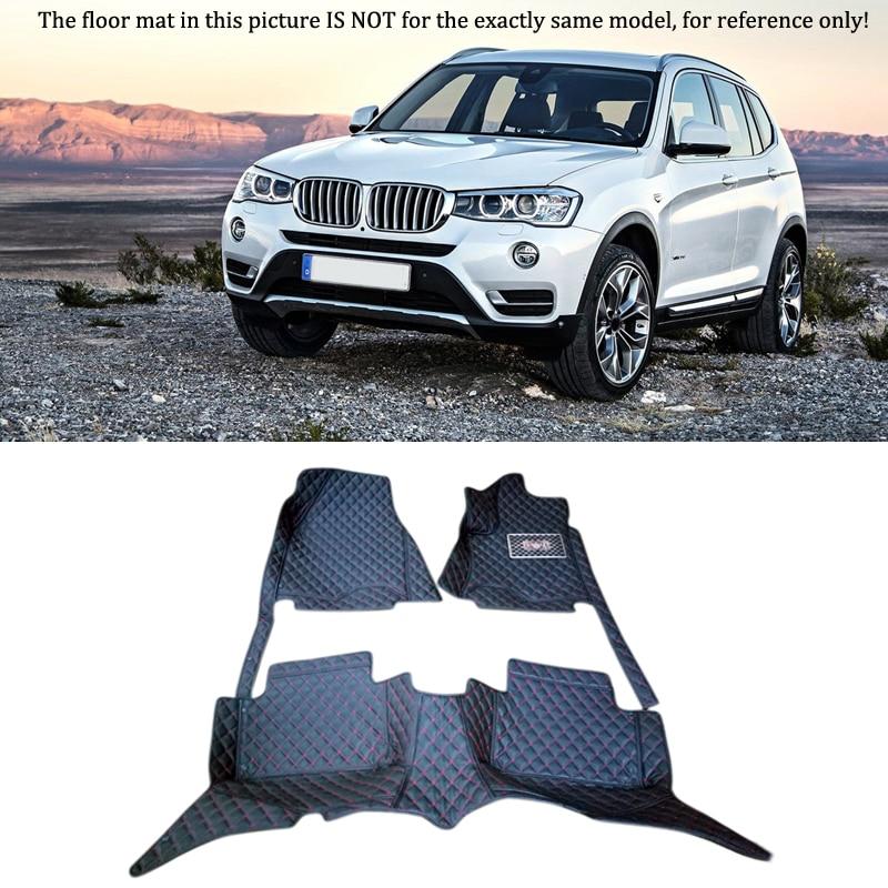 Auto Interior Accessories Floor Mats Carpets Foot Pad Kit For BMW X3 F25 2011 2012 2013 2014 стоимость