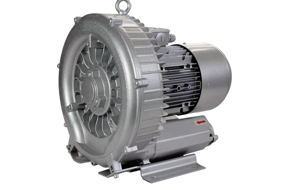 1.5kw 380V/50Hz  single stage three phase  side channel ring blower
