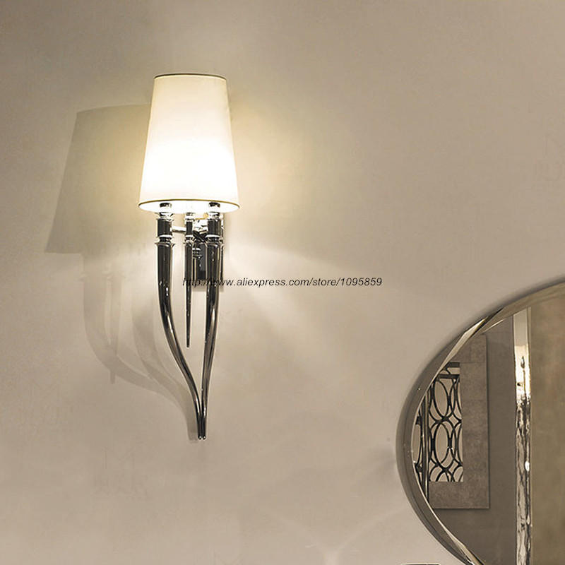 Modern Chrome Wall Sconces : Popular Chrome Sconce Lighting-Buy Cheap Chrome Sconce Lighting lots from China Chrome Sconce ...