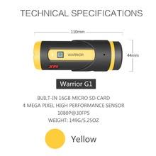 XM H.265 1080P Full HD Sports Action Camera 16GB Card