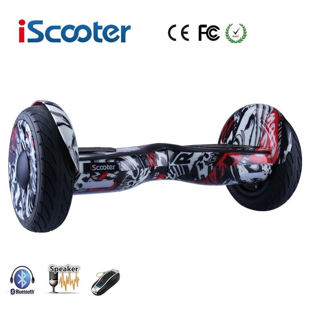 iScooter Hoverboard Bluetooth Electric Scooter self Balancing scooter Smart two wheel skateboard Bluetooth Speaker with Remote iscooter hoverboard 10 inch bluetooth 2 wheel self balancing electric scooter two smart wheel gyroscooter 10 skateboard board