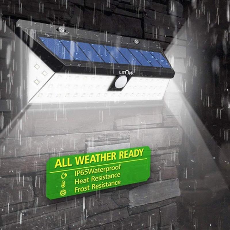 90118 solar luz do jardim led sensor
