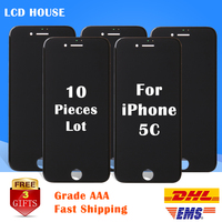 10PCS Mix Order Grade AAA Pantalla For IPhone 5 5S 5C 5G LCD Screen Touch Display