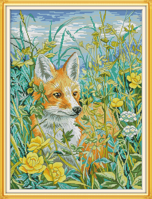 The fox in the Bush Cross