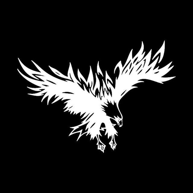 online shop 22 15 5cm cool eagle bird big wings design car styling Bird of Prey Starship 1 2 11 shipping