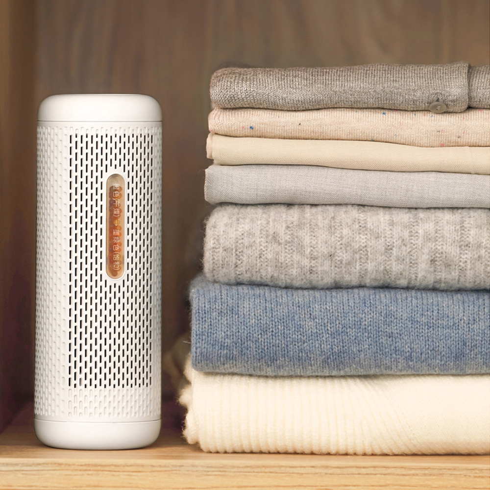 Deerma Mini Portable Dehumidifier Home Air Dryer Ceramic PTC Heater Reusable Humidity Absorber From Xiaomi Youpin