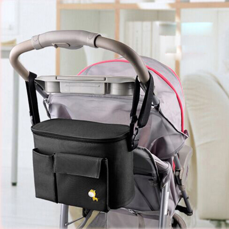 New Arrival Thermal Insulation Bags For Baby Stroller Waterproof Baby Diaper Changing Bag Pram Bags