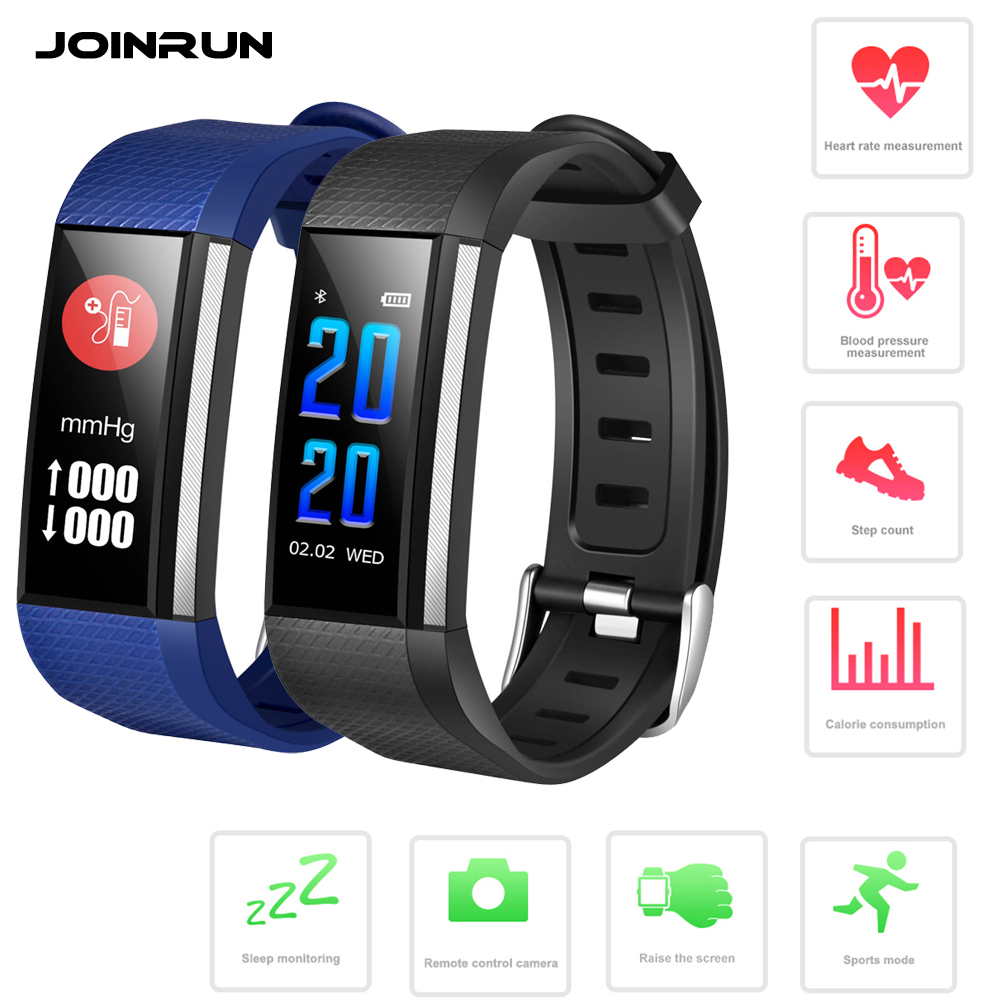 JOINRUN S200 Smart Band Wistband Heart Rate Monitor Blood Pressure Oxygen Fitness Tracker SMS Reminder Smart Bracelet watch