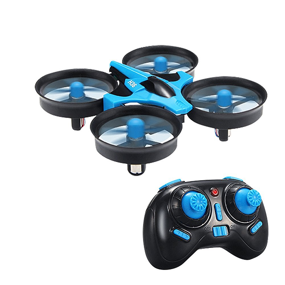 JJRC H36 Mini Drones 2.4G 4CH 6 Axis Headless Modus Afstandsbediening RC Quadcopter Drone RTF