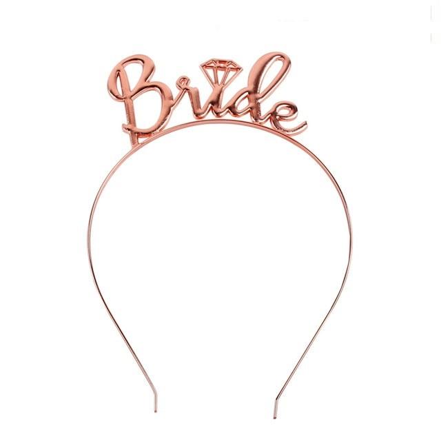 Hen Party Team Bride Sash Wedding Bridal Bachelorette BrideTo Be Balloon Wedding Photo Props Party Decoration PT5