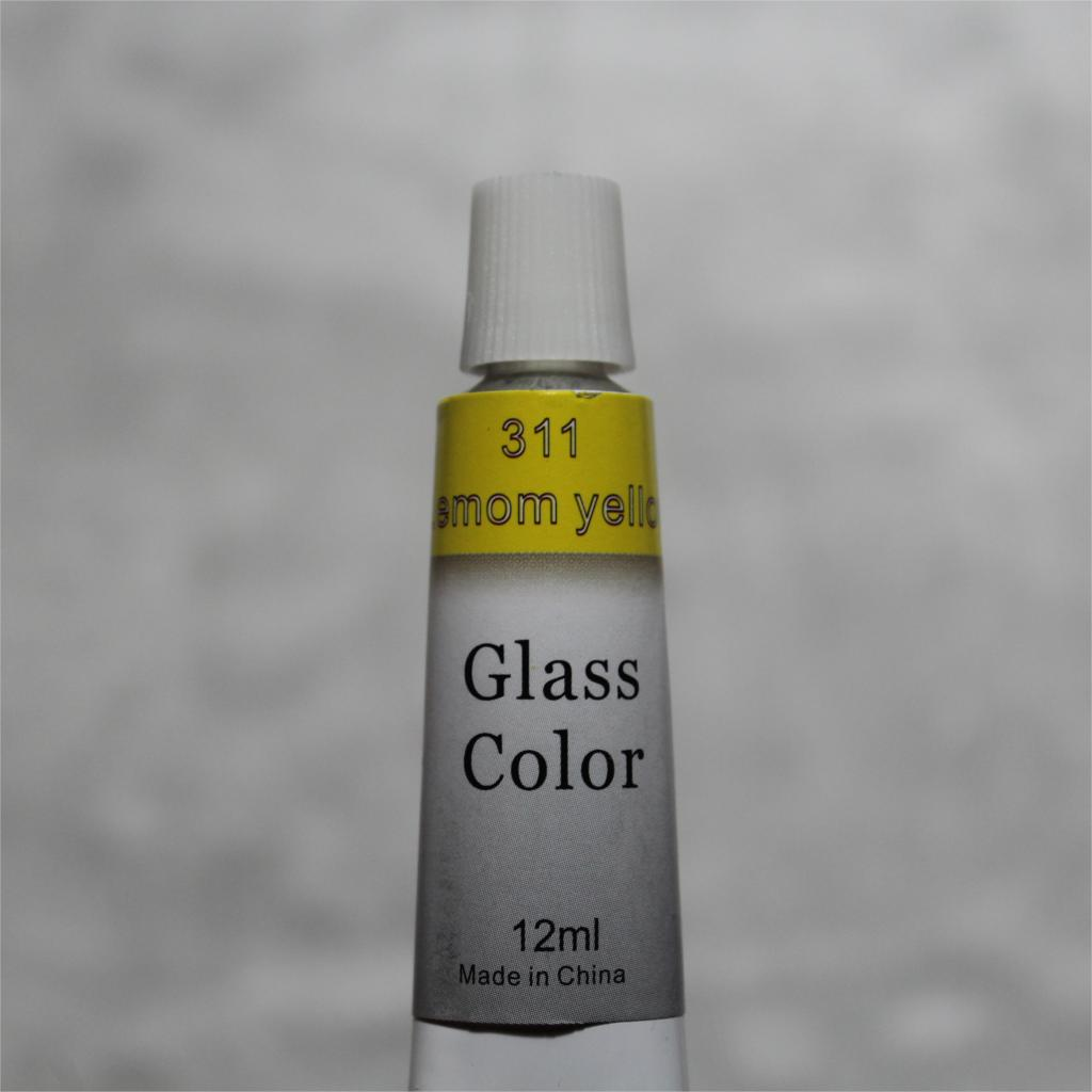 Color Glass and Acryl Paint - Set of 12 3