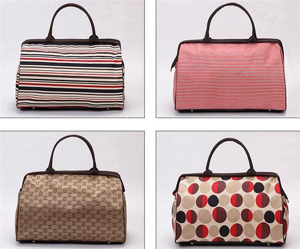 Travel Bags 2016 Fashion Waterproof Vintage Large Capacity Quality Luggage Duffle Bags Casual Handbag Women Travel Bags YA0192 (4)